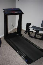 High end treadmill