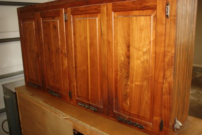 Nice cherry cabinets for kitchen