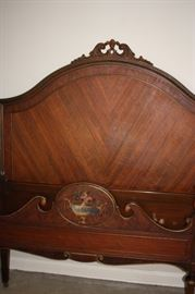 Matching single bed (Berkey and Gay)