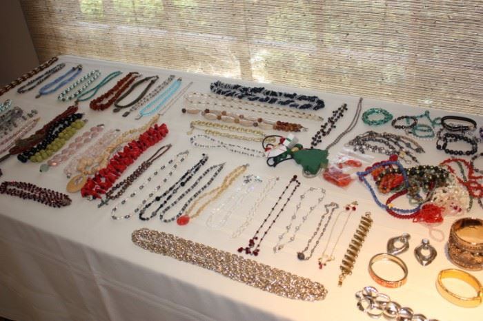Jewelry (some gorgeous hand made)