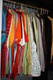 High end men's designer shirts, clothes