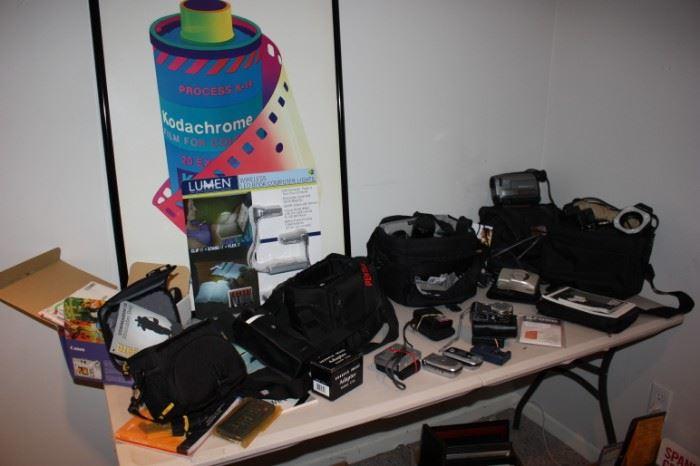 Loads of cameras