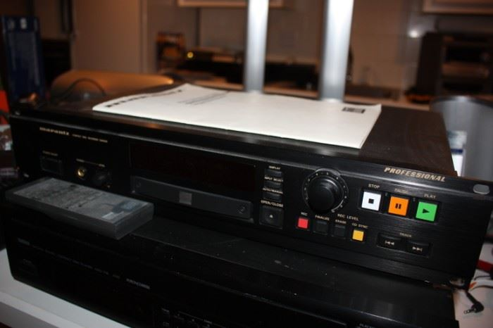 Marantz cd recorder