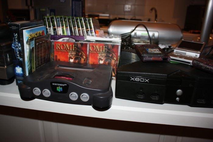 Xbox, Nintendo game systems