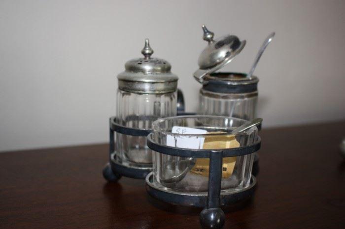 Antique serving set