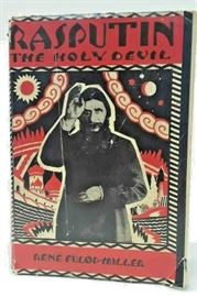RASPUTIN THE HOLY DEVIL BOOK BY RENE FULOP-MILLER FIRST EDITION 1927 LA6122 https://www.ebay.com/itm/123750997283