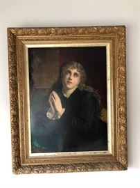Antique Framed Portrait