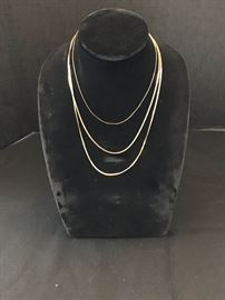 Three strand and gold like necklace https://ctbids.com/#!/description/share/135187