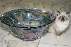 1. Contemporary Glass Bowl