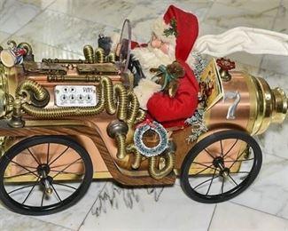 3. Santa Claus in 7 Fire Truck