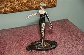 11. Erte, Russian 1892  1989, Figurine, Pearls and Rubies