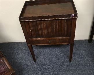 Period side table. Low estimate $200