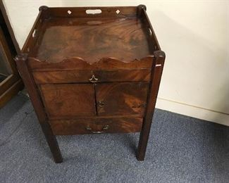 Period side table. Low estimate $250