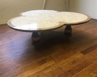 Modern coffee table. Low estimate $300