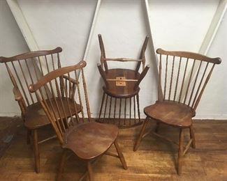 Stickley chairs. Low estimate $200