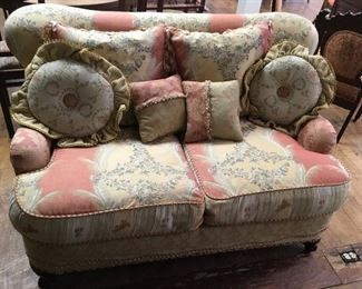 Sofa & matching chair. Low estimate $350