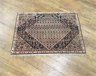 Persian rug. Low estimate $100