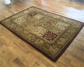 Designer rug. Low estimate $200