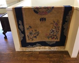 Chinese rug. Low estimate $250