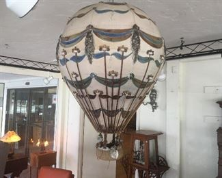 Ceramic hot air ballon. Low estimate $200