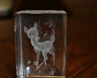ETCHED CRYSTAL BLOCK