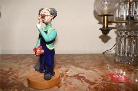 6. Novelty Clown Figure