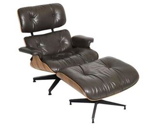 5. EAMES Lounge Chair Ottoman by Herman MILLER