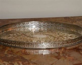 6. Silver Plate Tray by VINERS of Sheffield