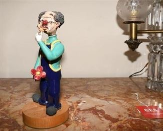 10. Novelty Clown Figure