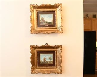 14. Pair of Landscape Paintings by E. CREON