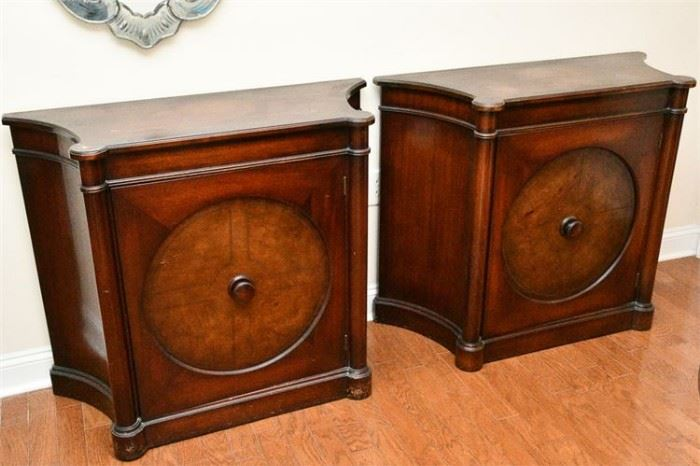 34. Pair of Regency Style Side Cabinets
