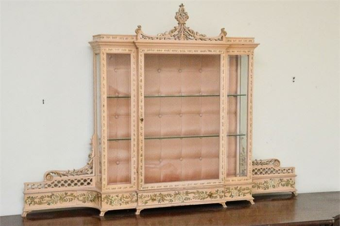 55. Neoclassical Style Parfume Display Case