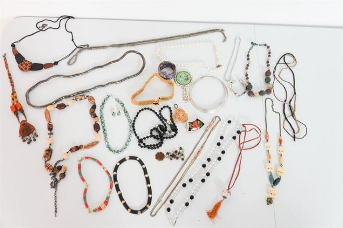 61. Group Lot of Costume Jewelry