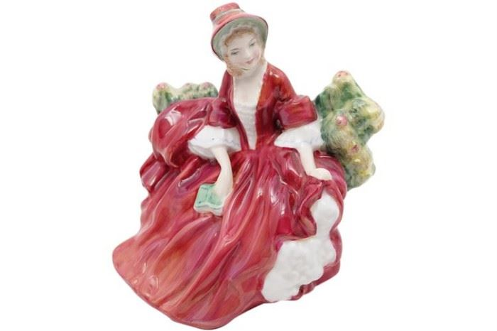 102. ROYAL DOULTON Lydia Porcelain Figure