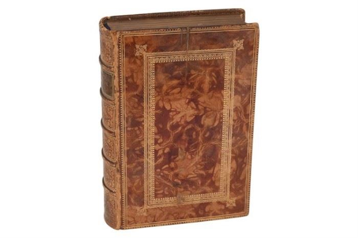 109. Antique Leather Volume, Poetical Works by Robert Southey