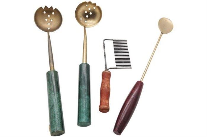 118. Italian MCM Bar Tools