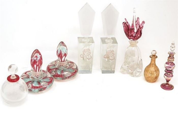 133. Group Lot of Perfume Bottles