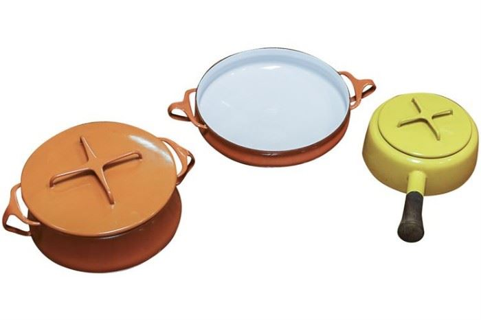 138. Three Vintage DANSK Pans