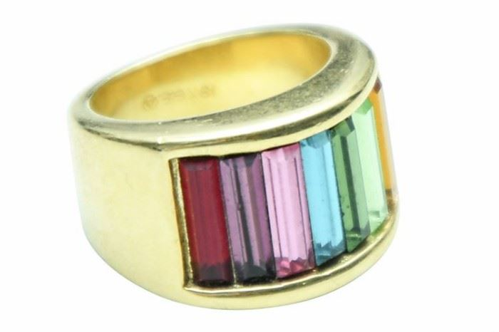 168. 14 K Gold Filled Ring