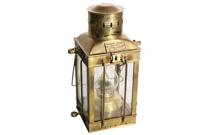 231. CARGO LIGHT Nautical Lantern