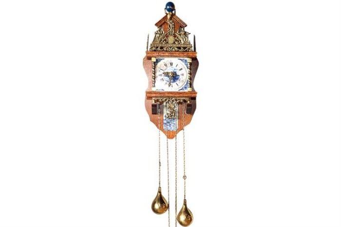 245. Renaissance Style Wall Clock