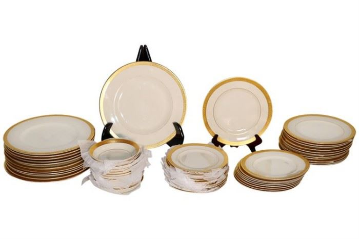 246. Partial Dinner Service SYRACUSE China