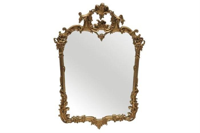 258. Louis XV Style Giltwood Mirror