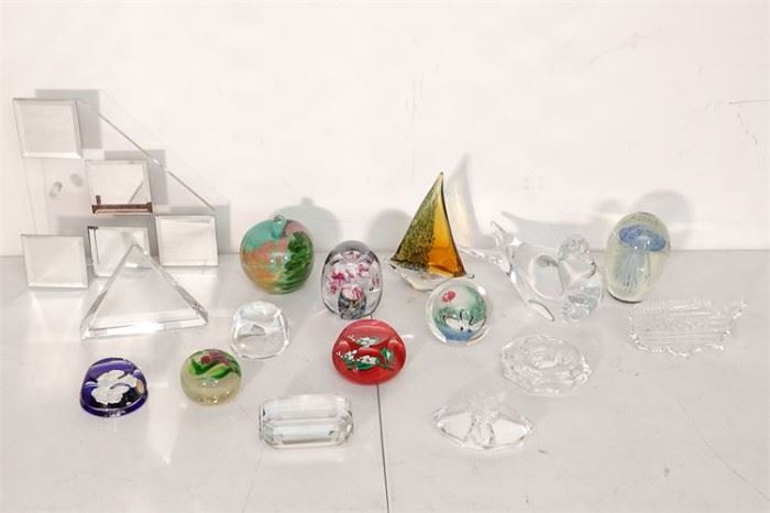 264. Collection Of Vintage Paperweights