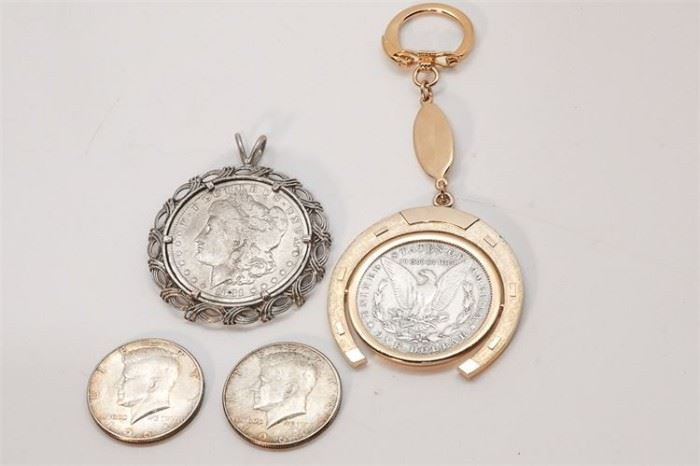 267. Four American Coins