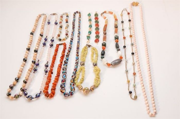 272. Group Lot Of Beaded Necklaces