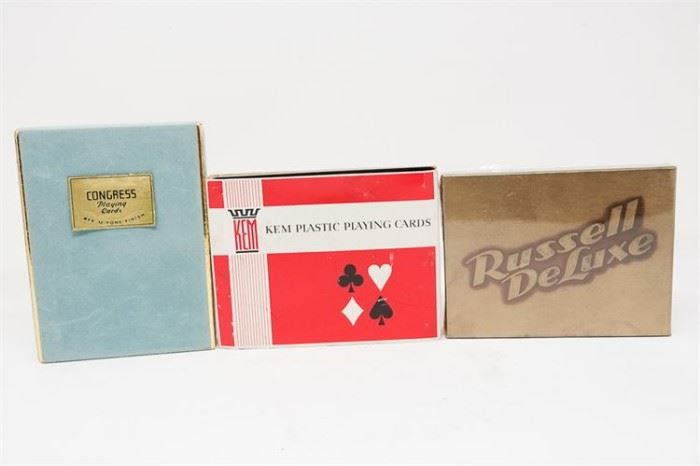 280. Group Of Vintage Playing Cards