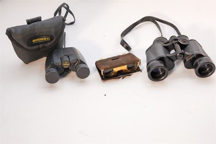 283. Three Pairs of Binoculars Various Makers