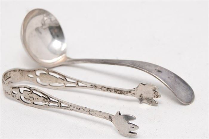 296. Two 2 Sterling Serving Items