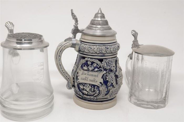 313. Four Beer Steins